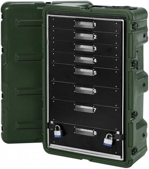 Medical Supply Case - 8 Drawer